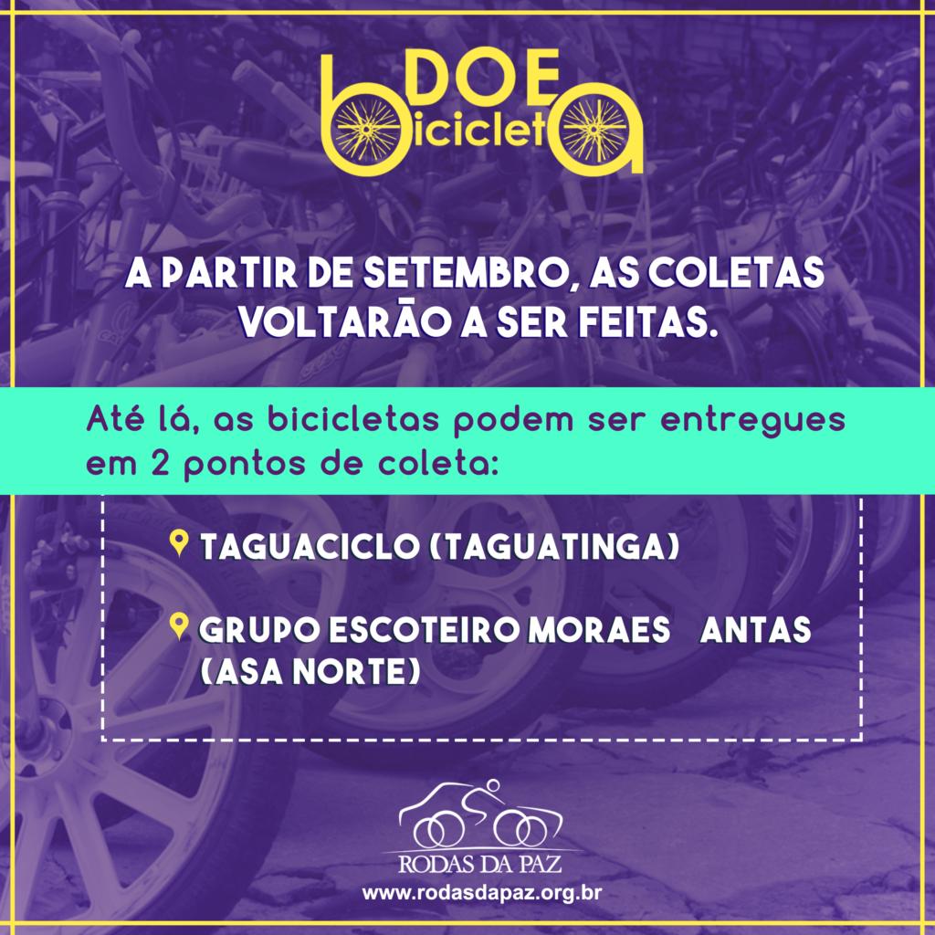 Flyer Doe Bicicletas - Fundo Roxo